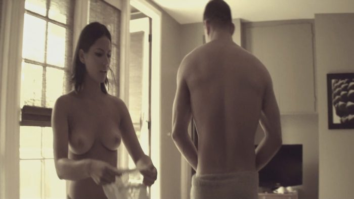Olivia Munn Topless in Magie Mike